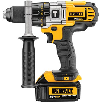 Dewalt DCD985M2 20V MAX Lithium-Ion Premium 3-Speed 1/2 in. Cordless Hammer Drill Kit (4 Ah) image number 3