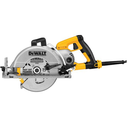Factory Reconditioned Dewalt DWS535TR 7-1/4 in. Worm Drive Circular Saw with Twistlock Plug image number 0