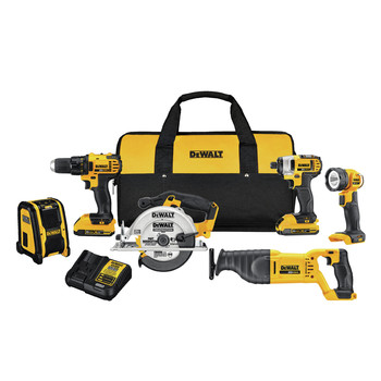Factory Reconditioned Dewalt DCK620D2R 20V Compact 6-Tool Combo Kit