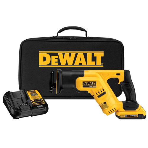 Factory Reconditioned Dewalt DCS387D1R 20V MAX Cordless Lithium-Ion Compact Reciprocating Saw Kit image number 0