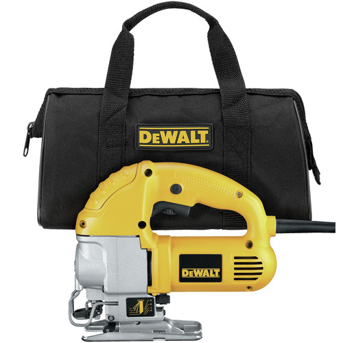 Factory Reconditioned Dewalt DW317KR 5.5 Amp 1 in. Compact Jigsaw Kit