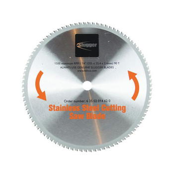 Fein 63502014620 Slugger 14 in. Stainless Steel Cutting Saw Blade