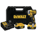 Dewalt DCF888P2BT 20V MAX XR 5.0 Ah Cordless Lithium-Ion Brushless Tool Connect 1/4 in. Impact Driver Kit