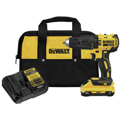 Factory Reconditioned Dewalt DCD778L1R 20V MAX Compact 1/2 in. Cordless Hammer Drill Driver (3 Ah) image number 0