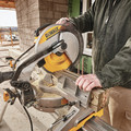 Factory Reconditioned Dewalt DWS715R 15 Amp Single Bevel Compound 12 in. Miter Saw image number 11