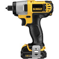 Dewalt DCF815S2 12V MAX Cordless Lithium-Ion 1/4 in. Impact Driver Kit