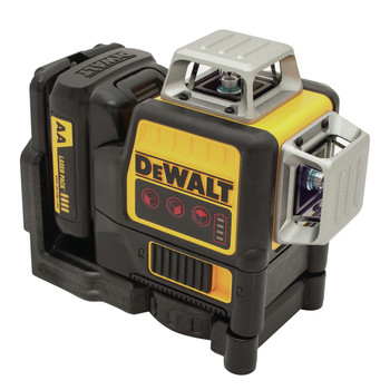 Dewalt DW089LR 12V MAX 3 x 360 Degrees Red Line Laser