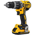 Factory Reconditioned Dewalt DCD797D2R 20V MAX XR Lithium-Ion Compact 1/2 in. Cordless Hammer Drill Kit with Tool Connect (2 Ah) image number 1