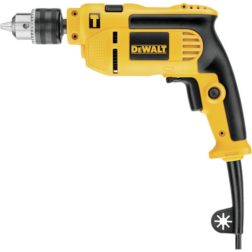 Factory Reconditioned Dewalt DWE5010R 7 Amp Single Speed 1/2 in. Corded Hammer Drill Kit image number 0