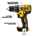 Dewalt DCK483D2 20V MAX XR Brushless Compact Lithium-Ion Cordless 4-Tool Combo Kit image number 1
