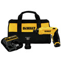 Dewalt DCF680N2 8V MAX Cordless Lithium-Ion Gyroscopic Screwdriver Kit with 2 Compact Batteries image number 0