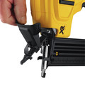 Dewalt DCN680D1 20V MAX Cordless Lithium-Ion XR 18 GA Cordless Brad Nailer Kit image number 10