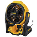Dewalt DCE511B 20V MAX Cordless Lithium-Ion / Corded Jobsite Fan (Tool Only) image number 1