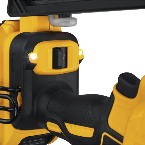 Dewalt DCN660D1 20V MAX 2.0 Ah Cordless Lithium-Ion 16 Gauge 2-1/2 in. 20 Degree Angled Finish Nailer Kit image number 7
