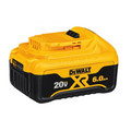 Dewalt DCB206-2 20V MAX Premium XR 6 Ah Lithium-Ion Slide Battery (2-Pack) image number 2
