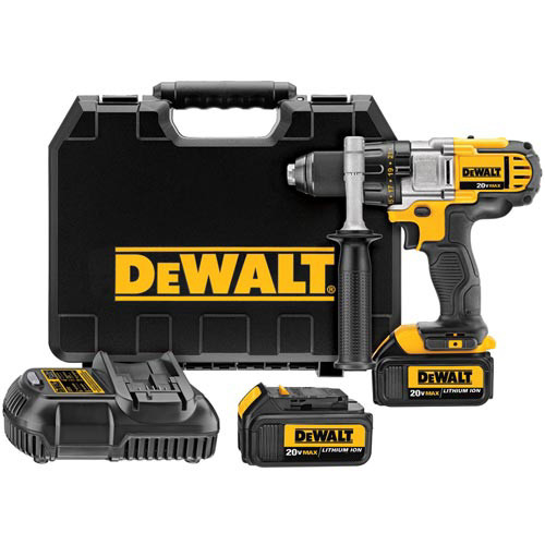 Factory Reconditioned Dewalt DCD980M2R 20V MAX Lithium-Ion Premium 3-Speed 1/2 in. Cordless Drill Driver Kit (4 Ah) image number 0