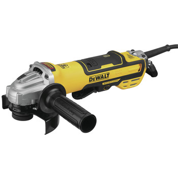 Dewalt DWE43214NVS 5 in. Brushless No-Lock Variable Speed Paddle Switch Small Angle Grinder with Kickback Brake image number 0