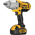 Dewalt DCF889HM2 20V MAX XR Cordless Lithium-Ion 1/2 in. High-Torque Impact Wrench Kit with Hog Ring Anvil image number 1