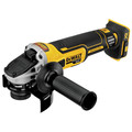 Dewalt DCG405B 20V MAX 4.5 in. Slide Switch Cordless Small Angle Grinder with Kickback Brake (Tool Only) image number 1
