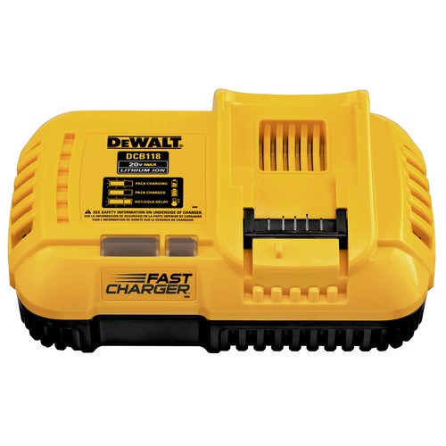 Dewalt DCB118 20V MAX 4/8 Amp Fan-Cooled Fast Charger