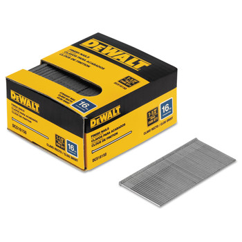 Dewalt DCS16150 1-1/2 in. 16-Gauge Straight Finish Nails (2,500-Pack)