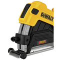 Dewalt DWE46123 4-1/2 in. / 5 in. Corded Cutting Grinder Dust Shroud Tool Kit image number 4