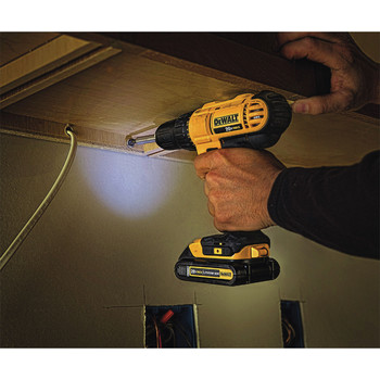Dewalt DCD771C2 20V MAX Lithium-Ion Compact 1/2 in. Cordless Drill Driver Kit (1.3 Ah) image number 1