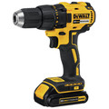 Dewalt DCD777C2 20V MAX Lithium-Ion Brushless Compact 1/2 in. Cordless Drill Driver Kit (1.5 Ah) image number 1