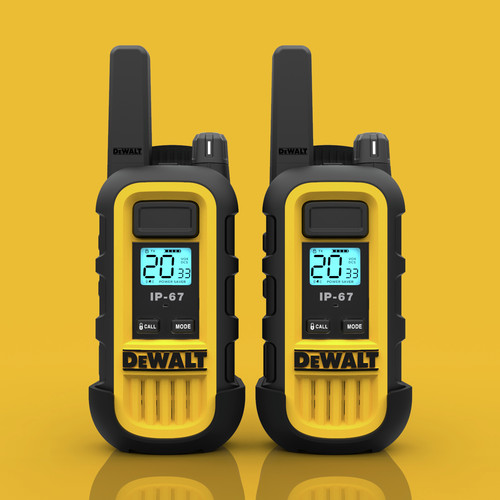 Dewalt DXFRS300 1 Watt Heavy Duty Walkie Talkies (Pair) image number 8