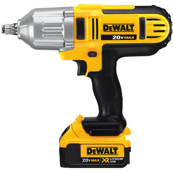 Dewalt DCF889HM2 20V MAX XR Cordless Lithium-Ion 1/2 in. High-Torque Impact Wrench Kit with Hog Ring Anvil image number 2