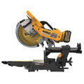 Dewalt DHS790AT2DWX723 120V MAX FlexVolt 12 in. Dual Bevel Sliding Compound Miter Saw Kit with Heavy-Duty Miter Saw Stand image number 4