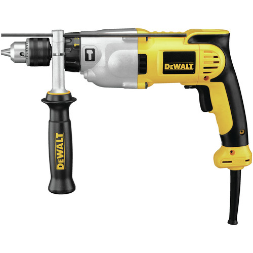 Factory Reconditioned Dewalt DWD520R 120V 10 Amp Variable Speed Dual-Mode 1/2 in. Corded Hammer Drill image number 0