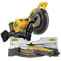 Dewalt DHS790AT2DWX723 120V MAX FlexVolt 12 in. Dual Bevel Sliding Compound Miter Saw Kit with Heavy-Duty Miter Saw Stand image number 3