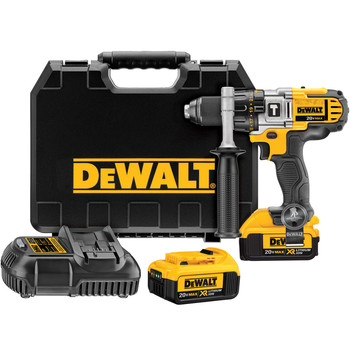 Factory Reconditioned Dewalt DCD985M2R 20V MAX Lithium-Ion Premium 3-Speed 1/2 in. Cordless Hammer Drill Kit (4 Ah) image number 0