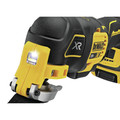 Dewalt DCS356C1 20V MAX XR Brushless Lithium-Ion Cordless Oscillating Multi-Tool Kit (1.5 Ah) image number 4
