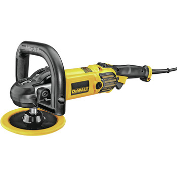 Dewalt DWP849X 7 in. / 9 in. Variable Speed Polisher with Soft Start image number 1