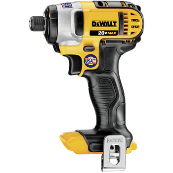 Dewalt DCF885B 20V MAX Cordless Lithium-Ion 1/4 in. Impact Driver (Tool Only) image number 1