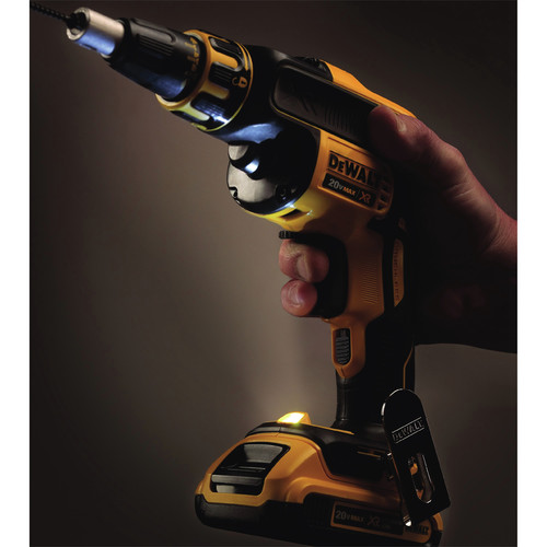 Factory Reconditioned Dewalt DCF620D2R 20V MAX XR Cordless Lithium-Ion Brushless Drywall Screwgun Kit image number 7