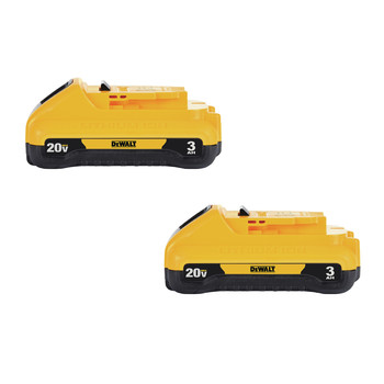 Dewalt DCB230-2 20V MAX 3 Ah Lithium-Ion Compact Battery (2-Pack)