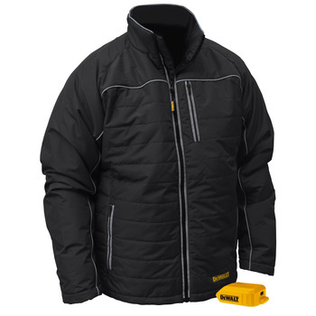 Dewalt DCHJ075B-L 20V MAX Li-Ion Quilted/Heated Jacket (Jacket Only)