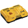 Dewalt DCB103 7.2V - 20V MAX Multi-Voltage Dual Port Charger image number 0