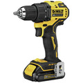 Dewalt DCD708C2-DCS354B-BNDL ATOMIC 20V MAX Compact 1/2 in. Cordless Drill Driver Kit and Oscillating Multi-Tool image number 3