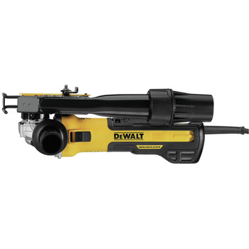 Dewalt DWE46202 5 in. / 6 in. Brushless Slide Switch Small Angle Grinder with Tuckpointing Shroud image number 1