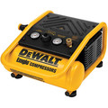 Dewalt D55140 0.3 HP 1 Gallon Oil-Free Hand Carry Trim Air Compressor