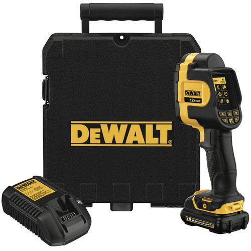 Dewalt DCT416S1 12V MAX Cordless Lithium-Ion Thermal Imaging Thermometer Kit image number 0