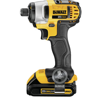 Factory Reconditioned Dewalt DCF885C2R 20V MAX Cordless Lithium-Ion 1/4 in. Impact Driver Kit image number 2