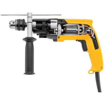 Factory Reconditioned Dewalt DW505R 7.8 Amp 0 - 1000 / 0 - 2700 RPM Variable Speed Dual Range 1/2 in. Corded Hammer Drill image number 3