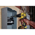Dewalt DCD708C2-DCS571B-BNDL ATOMIC 20V MAX 1/2 in. Cordless Drill Driver Kit and 4-1/2 in. Circular Saw image number 12