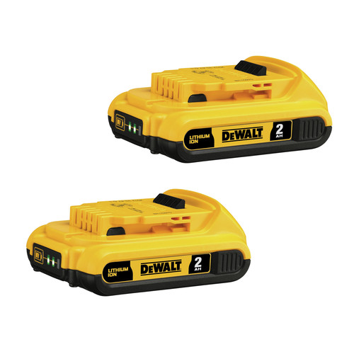 Dewalt DCB203-2 20V MAX XR 2 Ah Lithium-Ion Compact Battery (2-Pack) image number 0