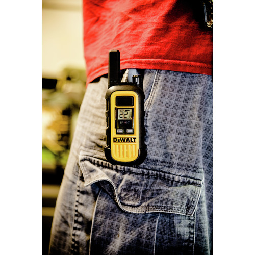 Dewalt DXFRS300 1 Watt Heavy Duty Walkie Talkies (Pair) image number 19